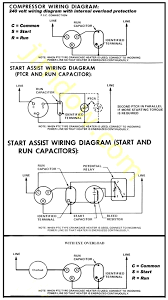 compressor run capacitor wiring diagram wiring diagram air conditioner compressor wiring general spud cannon related
