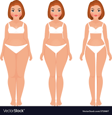 Weight Loss For Women Fat To Slim Woman Weight Loss Transformation Front