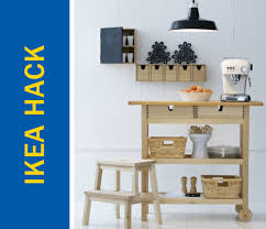 Ikea Hacks Kitchen Island Ikea Hack Of The Week A Kitchen Island Rolling Cart Eating Bar Hybrid
