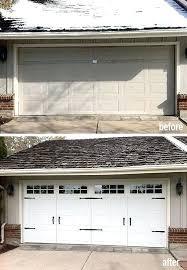 denver garage door photos before after garage doors garage door spring replacement denver