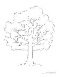 Template Tree Tree Templates Tree Printables