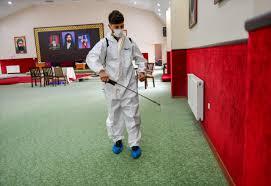 Hızır Orucu Öncesi Cemevlerinde Dezenfekte Ve Temizlik Çalışması Yapıldı  ESENYURT BELEDİYESİ