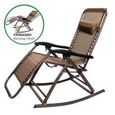 partysaving infinity zero gravity rocking chair outdoor lounge