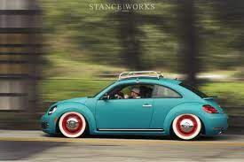 New Vw Beetle Old Look I Could Get Behind The New Ones If They Looked Like This Volkswagen New Beetle Volkswagen New Beetle