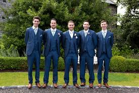 navy suit wedding. 16 Stylish Navy Suits for Grooms weddingsonline