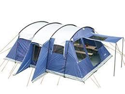 Tenda Campeggio Con Bagno : Skandika tenda quot milano per persone blu blue cm