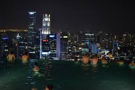infinity pool singapore night. Infinity Pool Night. Dsc_0941 Night T Singapore 0