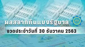 ตรวจหวย - ผลสลากกินแบ่งรัฐบาล งวดวันที่ 30 ธันวาคม 2563 : PPTVHD36