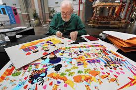 Famous Yellow Submarine Artist Makes Orlando Stop Orlando Sentinel