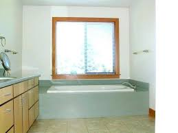 tub surround with window mobile home