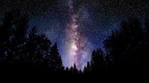 Resultado de imagen de La Vía Láctea vista desde la Tierra