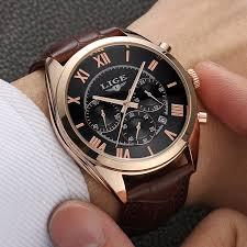 online get cheap mens dress watches aliexpress com alibaba group 2017 lige brand mens dress quartz watch men waterproof fashion casual sports watches man leather wristwatches