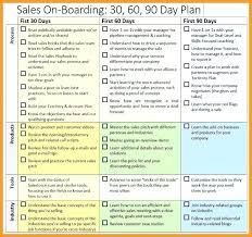 15 30 60 90 Day Sales Plan Template Free Sample Sample Paystub