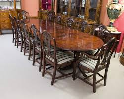 dining room a magnificent antique regency dining table and set of 12 chairs in room