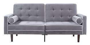 madison home usa mid century modern convertible sofa  reviews