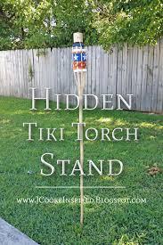 tiki torch stand jcooke inspired blog diy tutorials recipes jennifer cooke