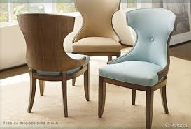 palecek dining chairs. so pretty and sophisticated: palecek rhodes side chairs dining