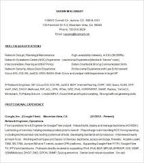 Network Technician Resume Samples Custom Networking Resume Networking Skills Resume Sample Resume Network