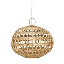 Rotan Lamp Open Littlelofts