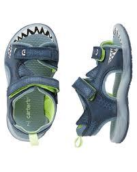 Toddler Boy Light Up Sandals Carters Shark Light Up Sandals Boy Shoes Newborn Shoes