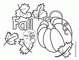 Fall Vegetables Coloring Pages For Kids