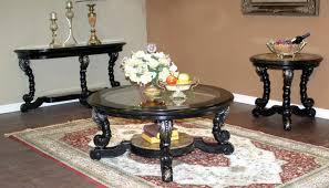Alya Coffee Table Set Living Room Furniture Round