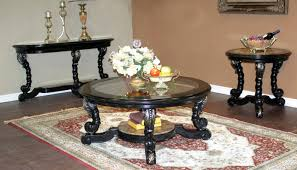 alya coffee table set living room furniture round
