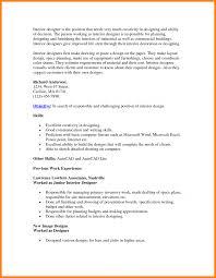 Interior Design Resume Format Pdf Designer Sample Cv Word Examples