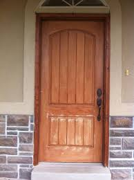 Exterior Fiberglass Doors That Have Been Wood Grained Or Faux