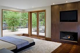 ... Wheeler Residence Designed By William Duff Architects Modern  Contemporary Fireplace Designs Tv Above Full Size
