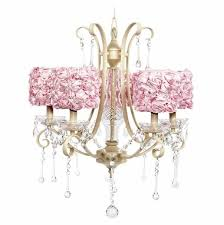 jubilee 5 light ivory colleen chandelier with pink rose garden drum shades