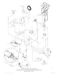 Mercruiser 43 alternator wiring dia