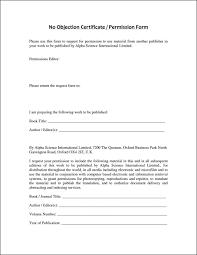 No Objection Letter For Business Hotelsandlodgings Com