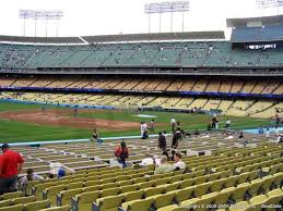 Seating Chart Dodger Stadium Rows Dodger Stadium Seat Views Section By Section