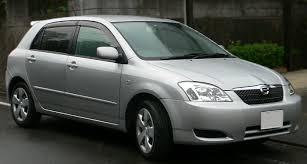Toyota Corolla Runx 1.5i (110 Hp)