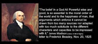 James Madison Quotes Best James Madison Quotes On Freedom Google Search Quotes Pinterest