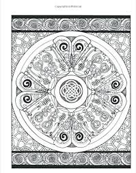 designs creative haven coloring book celtic cross art pages free for s
