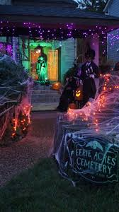 halloween party lighting. lights arenu0027t only for christmas an easy way to jazz up your halloween decor is with purple orange and green lightingand it makes safe party lighting