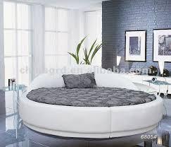 cheap round beds. Interesting Round White Leather Cheap Round Bed Intended Cheap Round Beds