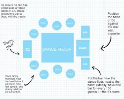 Wedding Diagram How To Plan Your Wedding Reception Layout Brides
