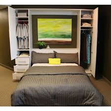 murphy bed office. Penthouse Murphy Bed W/Hutches, Doubles As A Wardrobe! Office