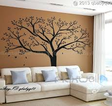 wall murals stickers wall art design ideas happy prettiest family tree wall art decal e vinyl