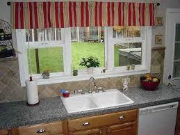 red kitchen window valances ideas decor ideasdecor ideas kitchen window designs images