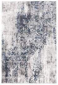 casper distressed modern rug blue grey white  rug addiction australia