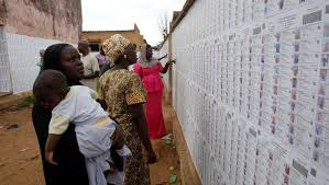 """Résultat de recherche d'images pour """"image bureau de vote à Niafunke au mali"""""""