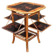 table with folding sides bamboo tea table with folding sides for round dining table folding