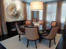 art dining room furniture. Chic Sunburst Mirror In Dining Room Traditional With Card Table Next To Wall Art Alongside Hanging And Furniture