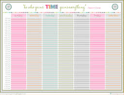 7+ Schedule Template Weekly | Memo Formats