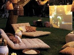 The days of the drive-in theater are mostly gone, but you can still capture  their magic by creating a theater in your backyard! Here's a list of  everything ...