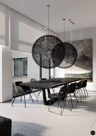 modern black white minimalist furniture interior. Roohome.com \u2013 Everyone Wants Their Dining Room Has Designed With An Enticing\u2026 Modern Black White Minimalist Furniture Interior I